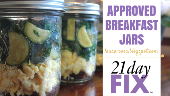 Laura Sosa: The Shredded Mama: 21 Day Fix Approved Breakfast Jars - Scrambled Eggs