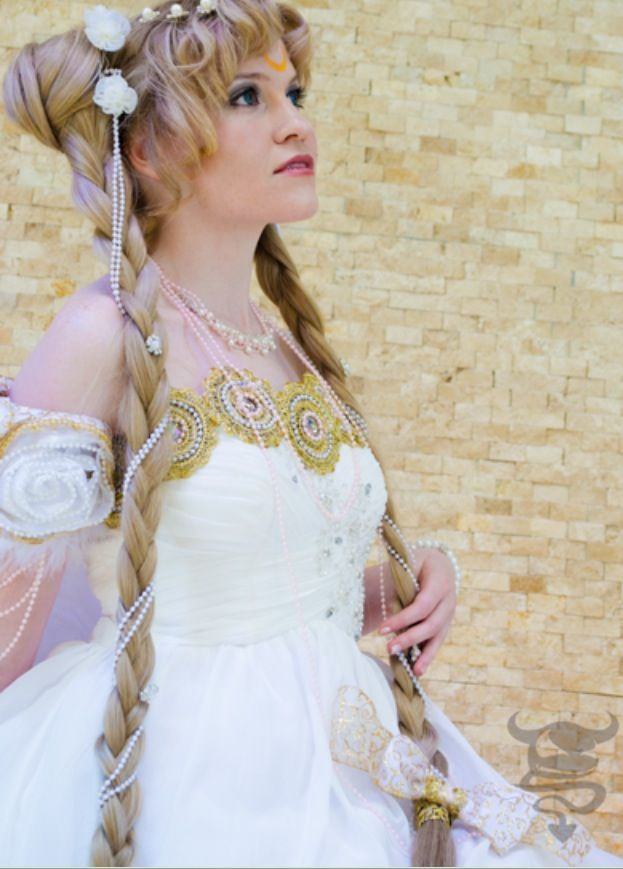 Princess Serenity wedding dress | Sailor Moon Wedding | Pinterest ...