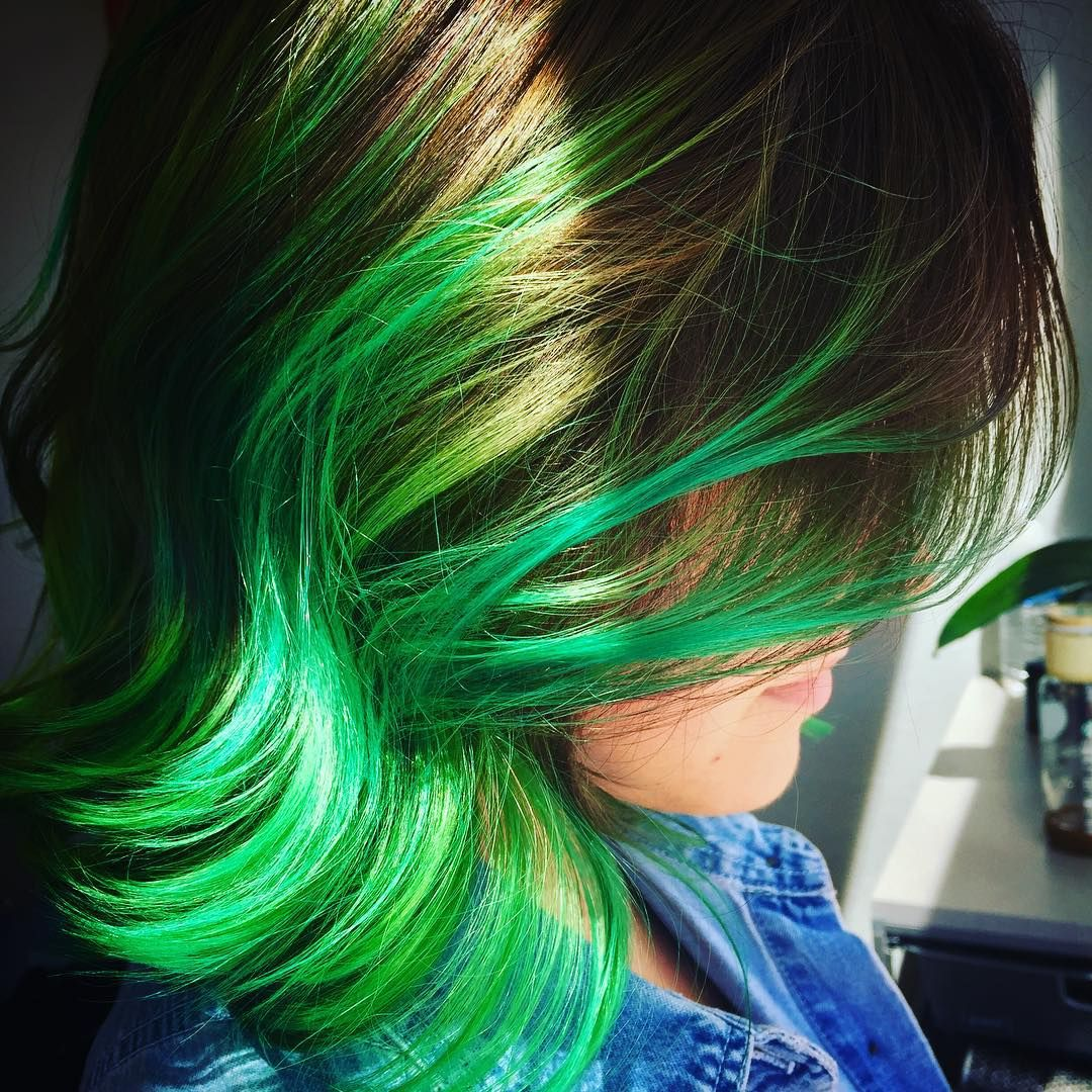 Top 25 Green Ombre Hair Colors Ombre Hair Ombre And Ombre Hair Color