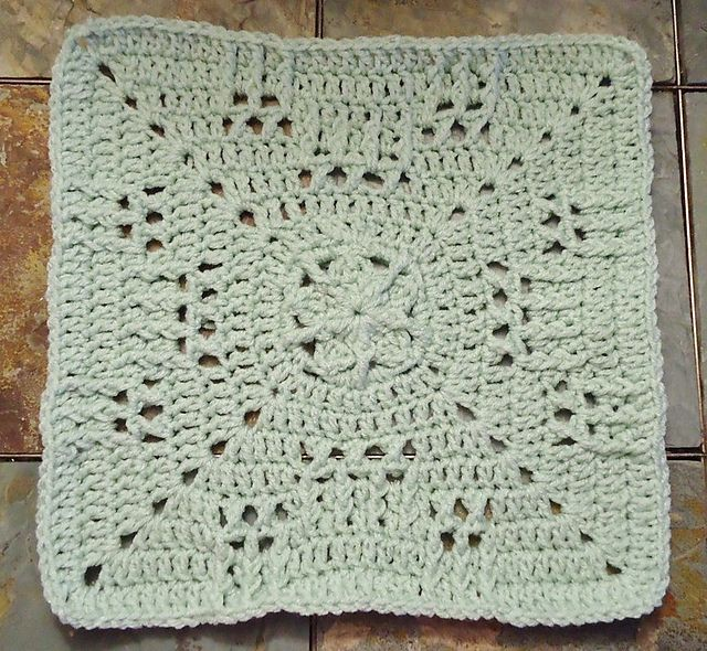 """Ravelry: Hugging the Stars 12"""" Square pattern by Aurora Suominen"""