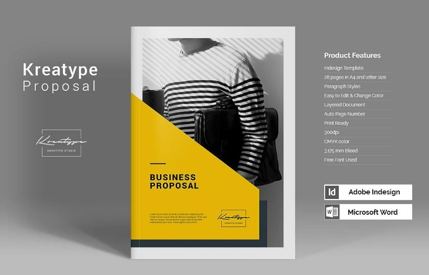 35+ Business proposal template word docs download | Design