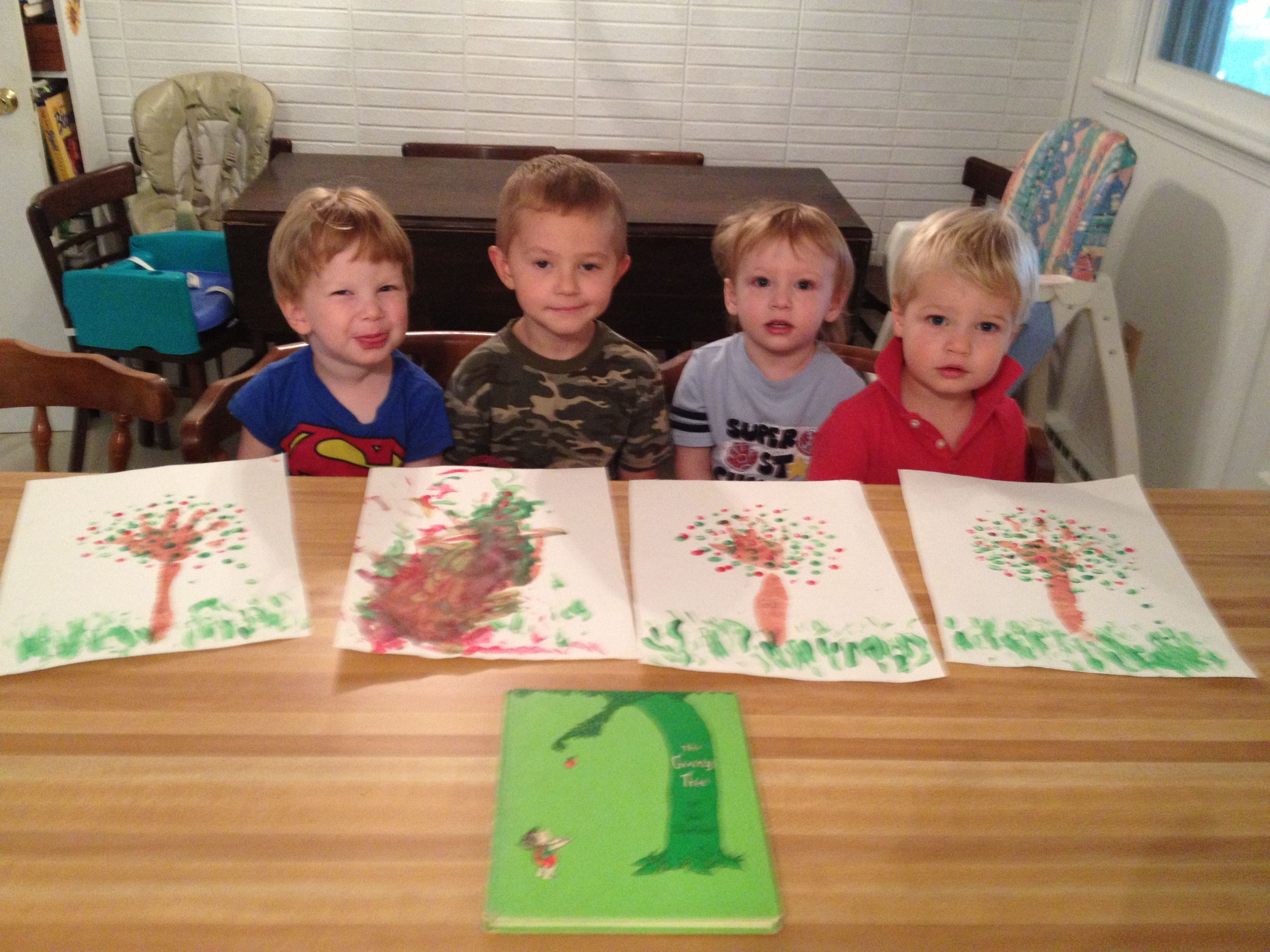 Shel Silverstein S The Giving Tree Art Project