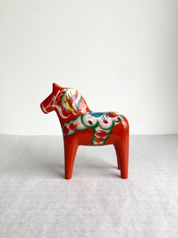 Dalarna Pferd vintage dala from sweden dala original dalarna