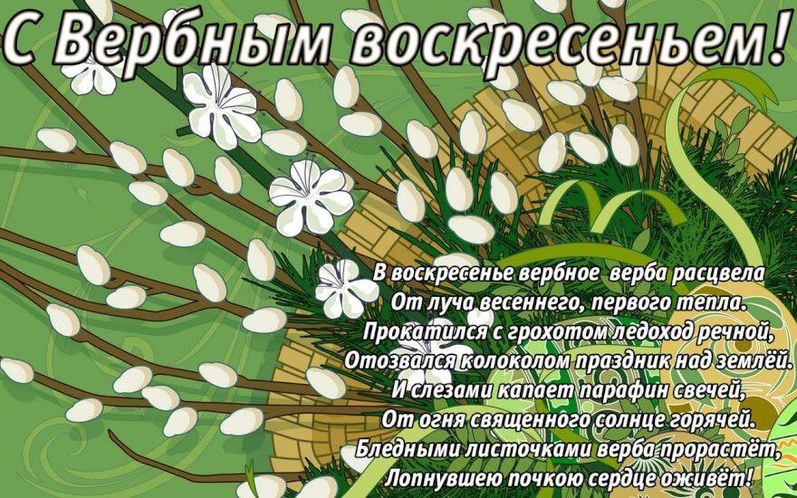 Поздравления с Вербным воскресеньем в стихах | Обои фоны, Открытки, Символы мира