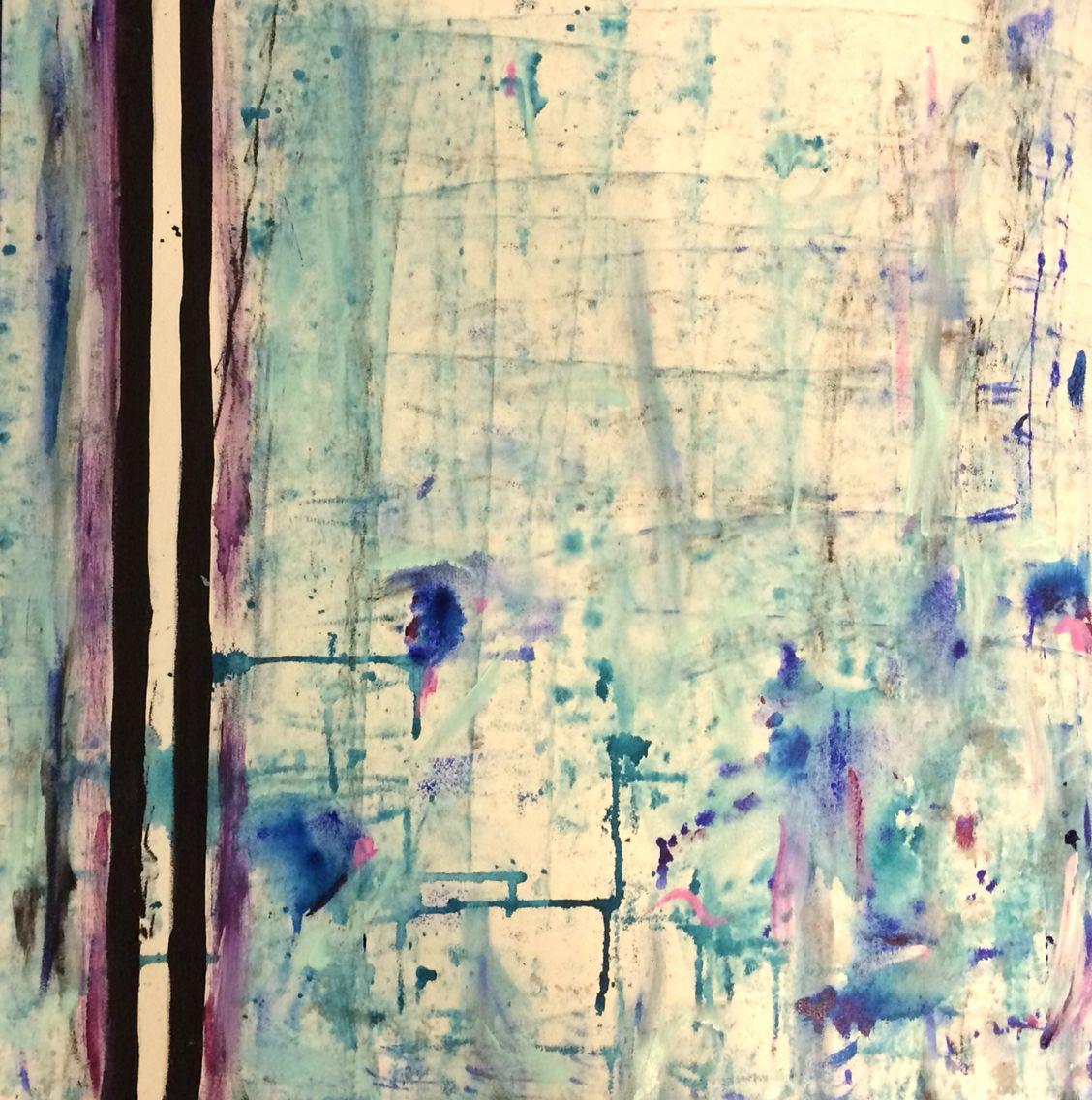 Original leahsimoneart abstract wallart