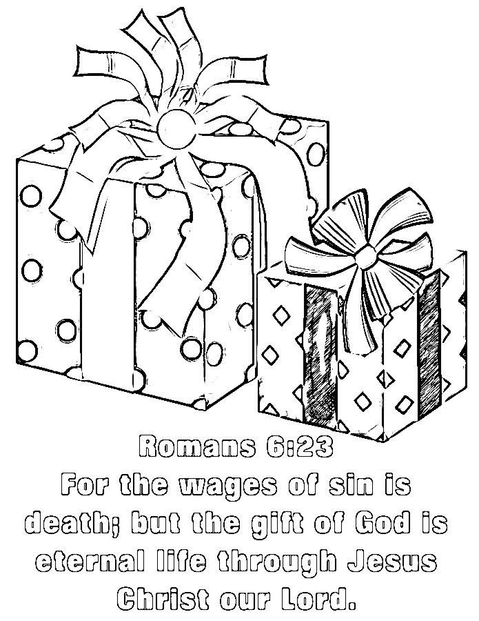 Romans 6 23 Coloring Page Bible Coloring Pages Coloring Pages