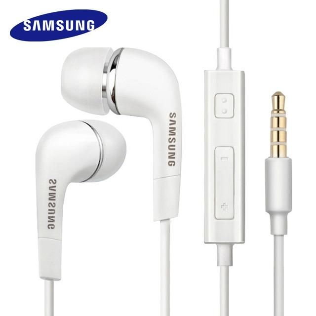 Samsung Earphones EHS64 Headsets With Built in Microphone