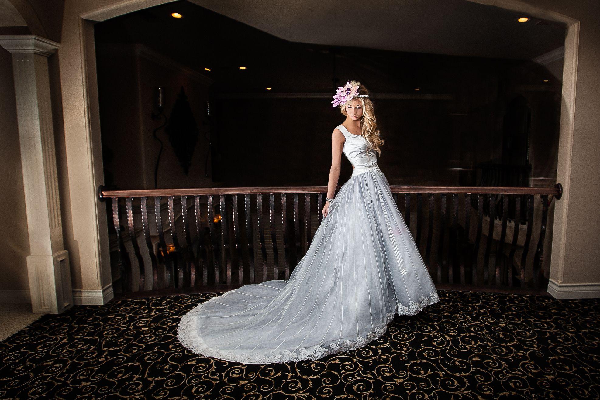 Kit Katherinemicheal Com Vintage Wedding Gown Dress Wedding Dress Blue Dress Blue Wedding Wedding Gowns Vintage Blue Wedding Gowns Blue Wedding Dresses [ 1317 x 1974 Pixel ]