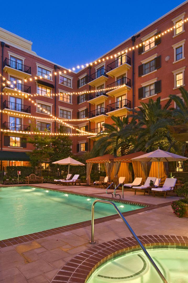 Hotel Granduca Houston Tx A Beautiful Hotel Setting For Cabanas