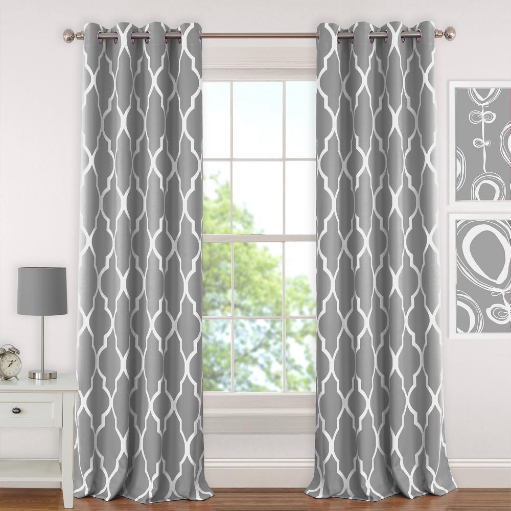 Elrene Emery Kids Blackout Window Curtain 026865901047 Panel Curtains Curtains Drapes Curtains