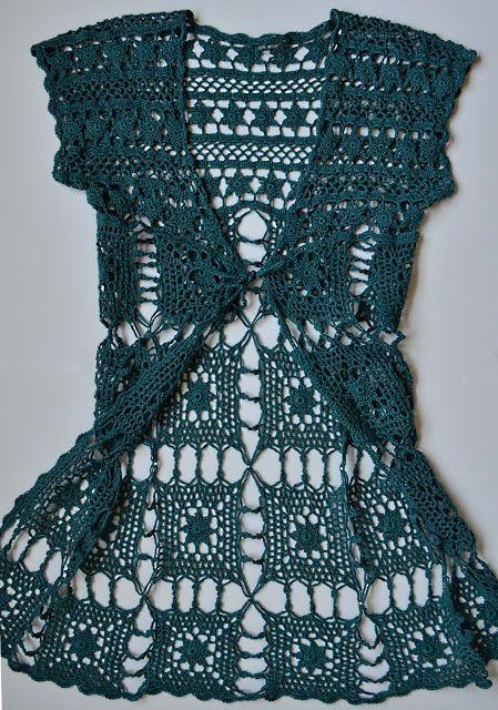 Outstanding Crochet: Patterns | Virkade klänningar, Virkade