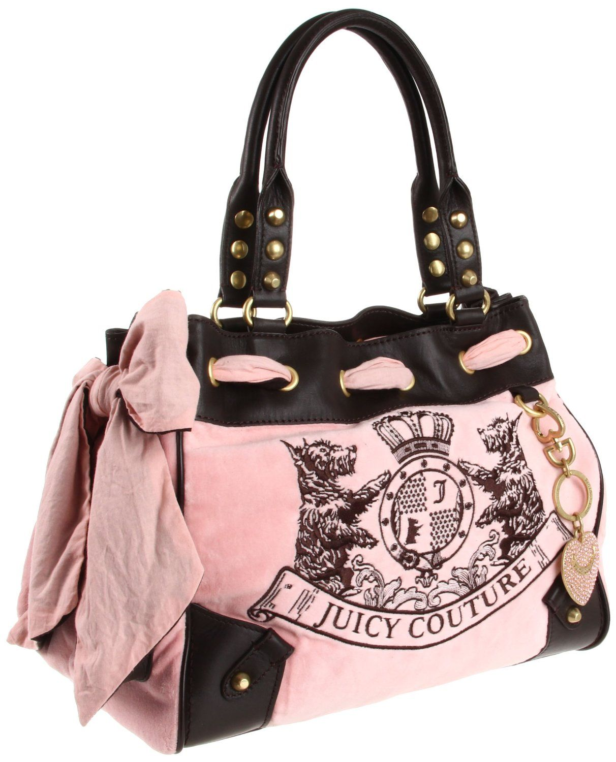 52fc9a2aa5cd82 Juicy Couture Scottie Embroidery Daydreamer Tote Bag, Pink Nardels ...