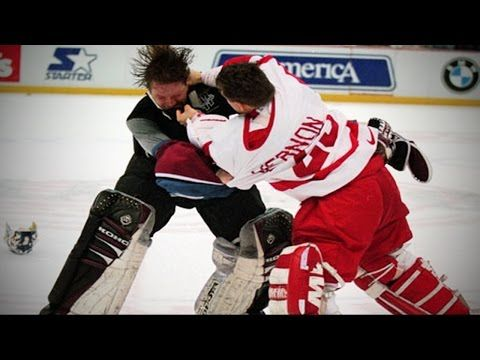 d825303e53c Colorado Avalanche vs Detroit Red Wings -   Brawl in Hockeytown   - March  26