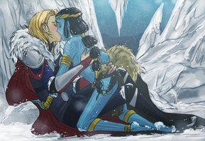 Thorki: The Jotun Prince by Hootsweets