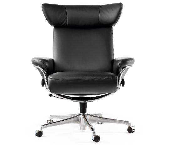 Stressless Viva Home Office Sessel In Leder Black Made By Ekornes