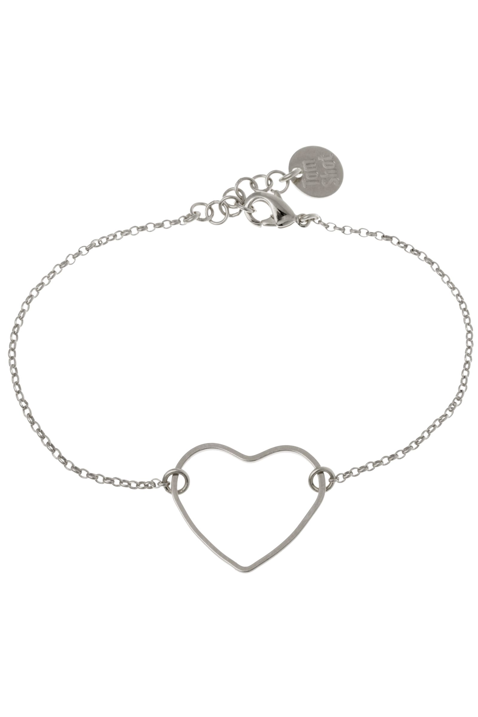 Eternity armband silver