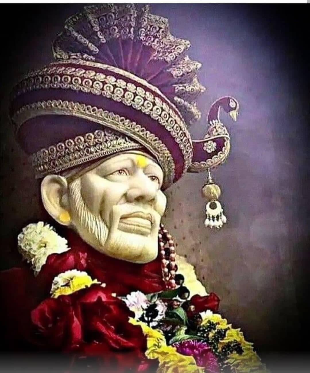 50 Sai Baba Images In Hd Vedic Sources Sai Baba Hd Wallpaper Sai Baba Wallpapers Sai Baba