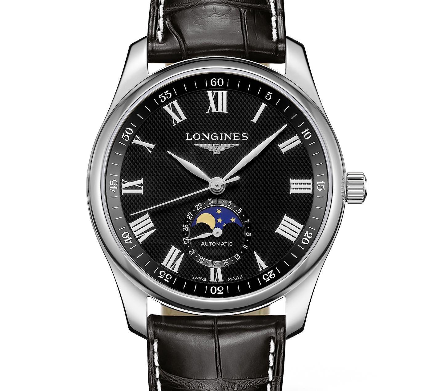 Longines Introduces New Longines Master Moonphase Watch Moonphase Watch Longines Simple Watches