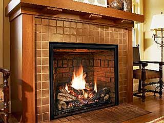 Gas Log Fireplace Insert Gas Fireplaces Love The Large Fireplace With Very Little Black Around It Also Lik Gas Fireplace Country Fireplace Fireplace Inserts