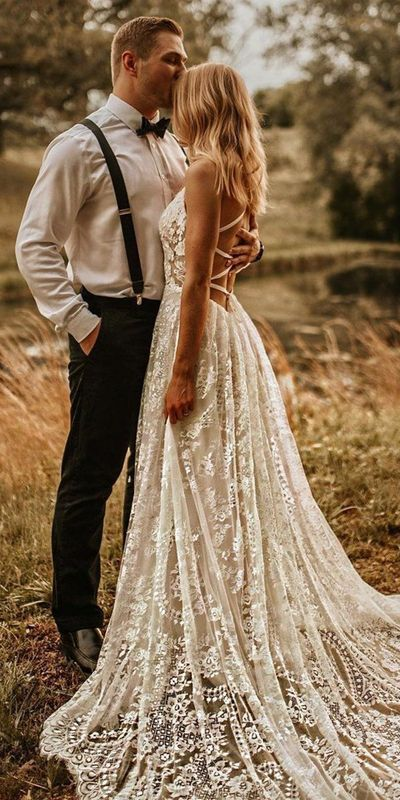 Country Style Wedding Dresses Inspiration  Wedding Forward in