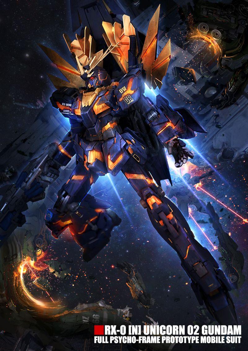 Banshee Norn by theDURRRRIAN.deviantart.com on @DeviantArt ... Gundam Banshee Wallpaper