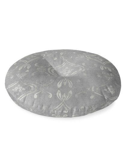 El Dorado Round Floor Pillow By Kavka Designs At Gilt Grey Flooring Kavka Designs Floor Pillows