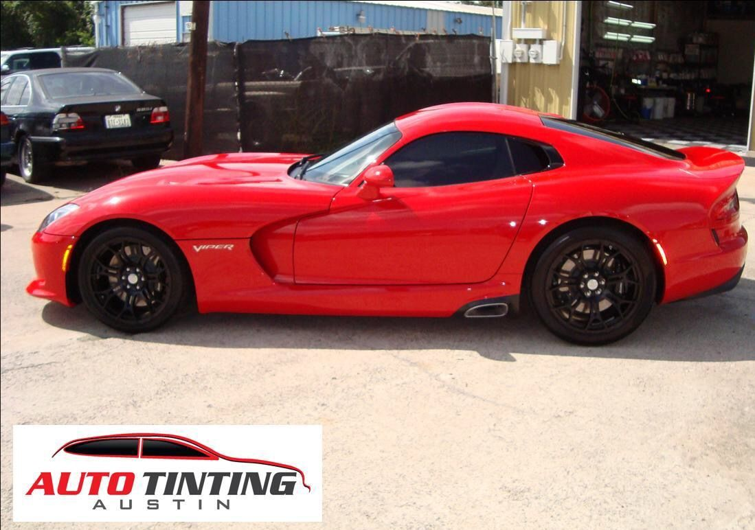 Vehicle tinting image by Auto Detailing Austin on Tinting