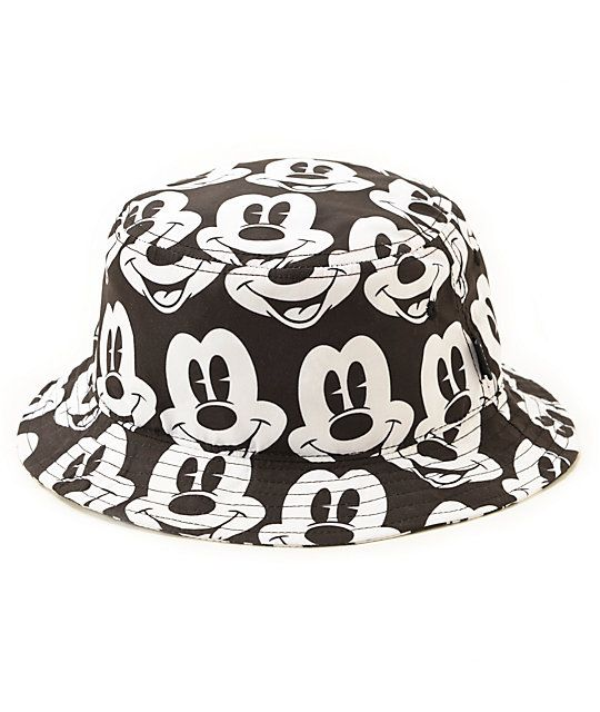 f67fafbd38d I have this bucket hat! Bask in the shadow of an icon with an all-over  Mickey Mouse face graphic print on a lightweight polyester design for  comfort.