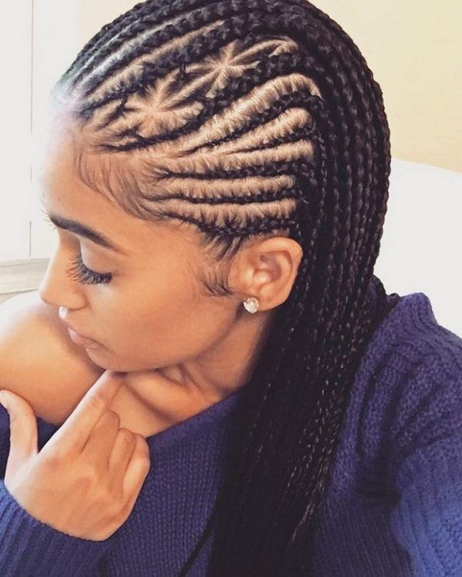 Top Braid Hairstyle For African American Women On Christmas
