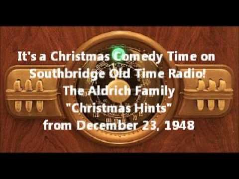 "The Aldrich Family ""Christmas Hints"""