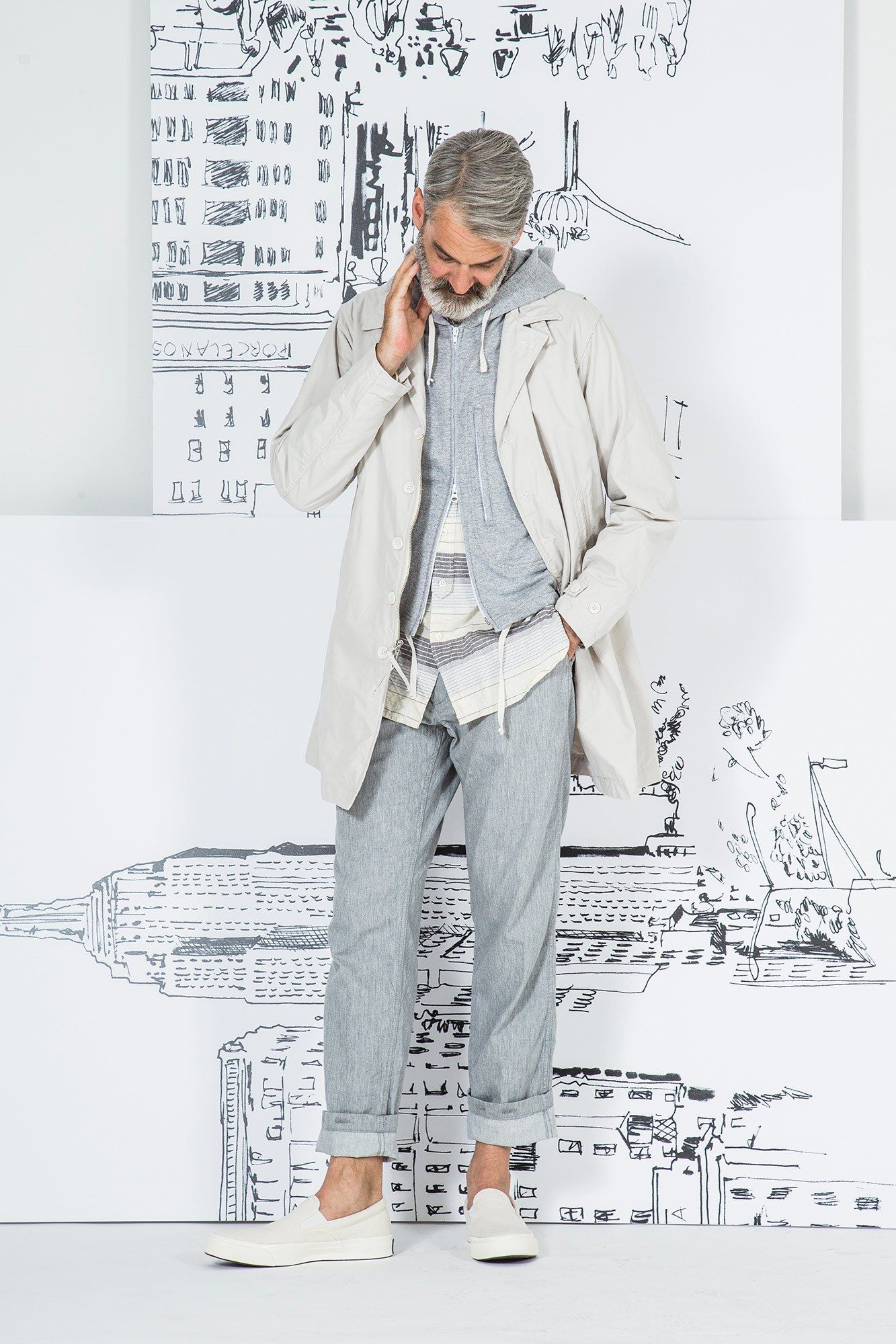 Engineered Garments Spring 2017 Menswear Fashion Show