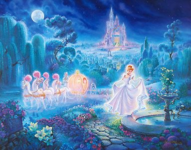 Cinderella - Cinderella An Evening of Magic - Tom duBois - World-Wide-Art.com - $325.00 #Disney #Cinderella