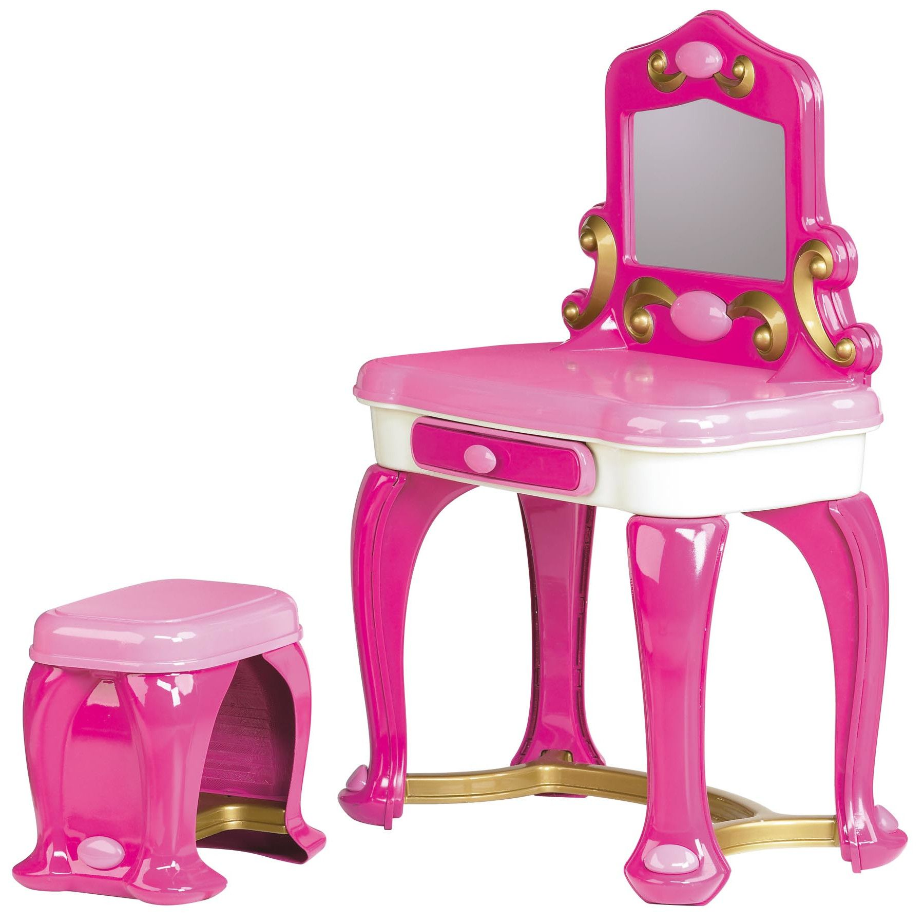 new product b5c80 db5f0 American Plastic Toys Deluxe Vanity Set with Mirror | All ...