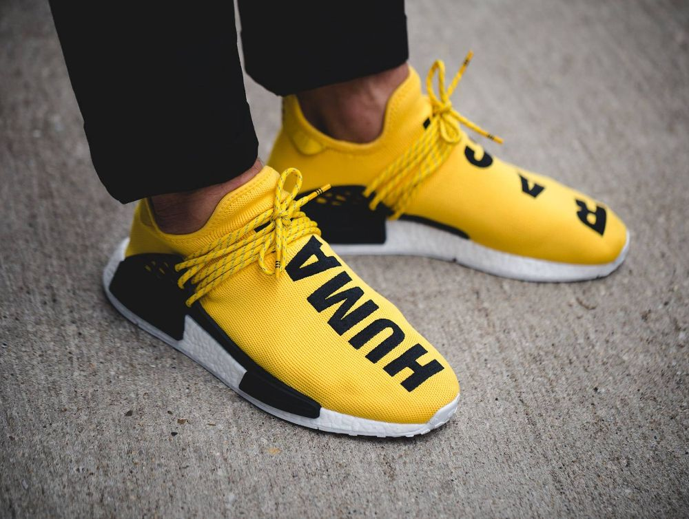new product 3fcb4 6681c Pharrell Williams x Adidas NMD R1 HU  Human Race