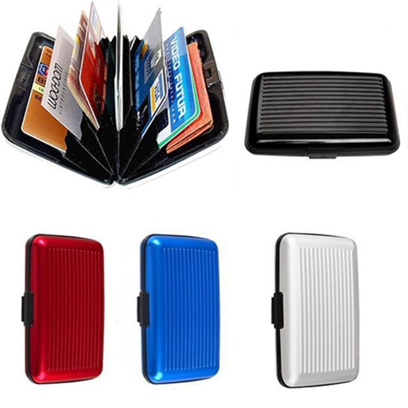 10 Pieces Rfid Travel Card Wallet Aluminum Business Men Women ...