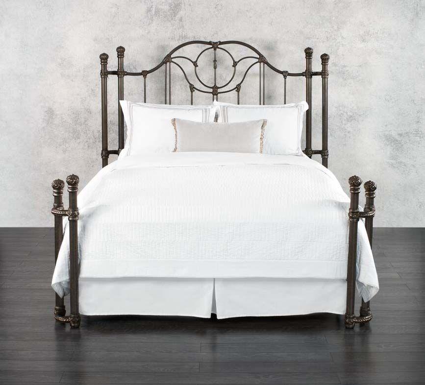 Wesley Allen Kenwick Iron Bed Western Bedroom Furniture