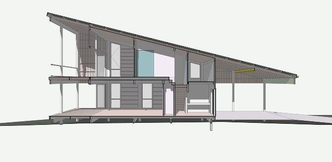 Mono for Mono pitch house plans