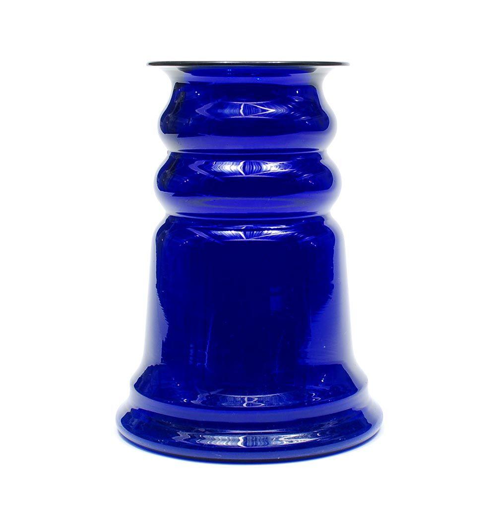 Cobolt blue glass vase c design kpc bazel 1917 20 glass floridaeventfo Image collections