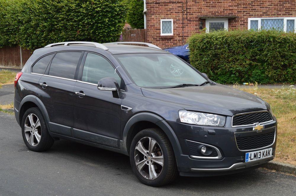 Ebay 2013 Chevrolet Captiva Ltz Vcdi Auto Spares Or Repairs