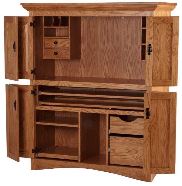 Beautiful Wooden Desk 48 Computer Armoire Armoire Desk Computer Desks For Home