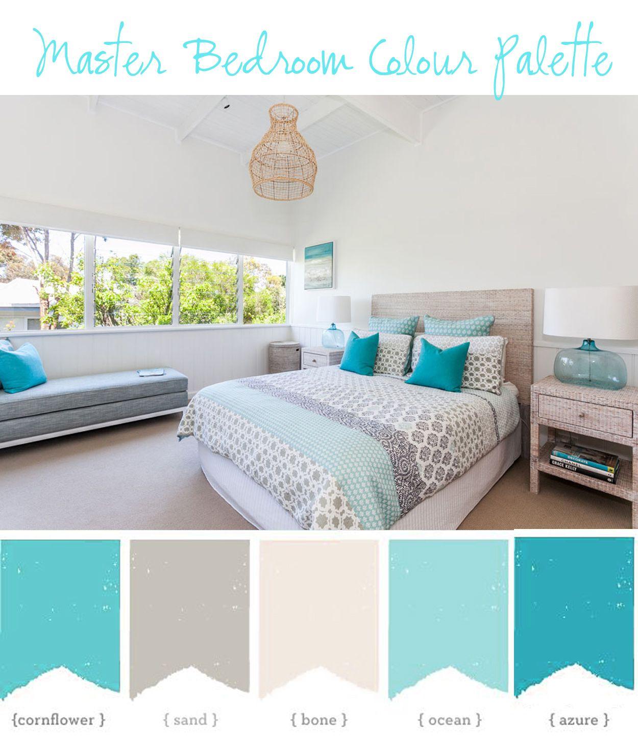 Coastal Style Blogspot My Beach House Master Bedroom