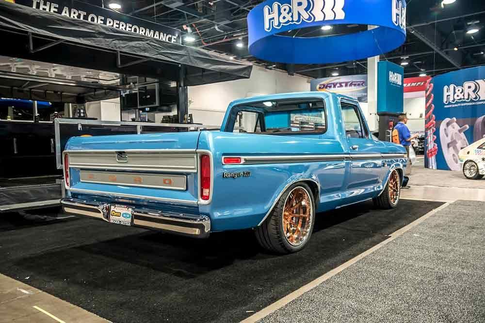 A Bright Blue Classic Ford Ranger Classic Trucks Ford Trucks Trucks Lifted Diesel