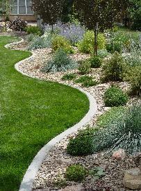 Installing Metal Garden Edging