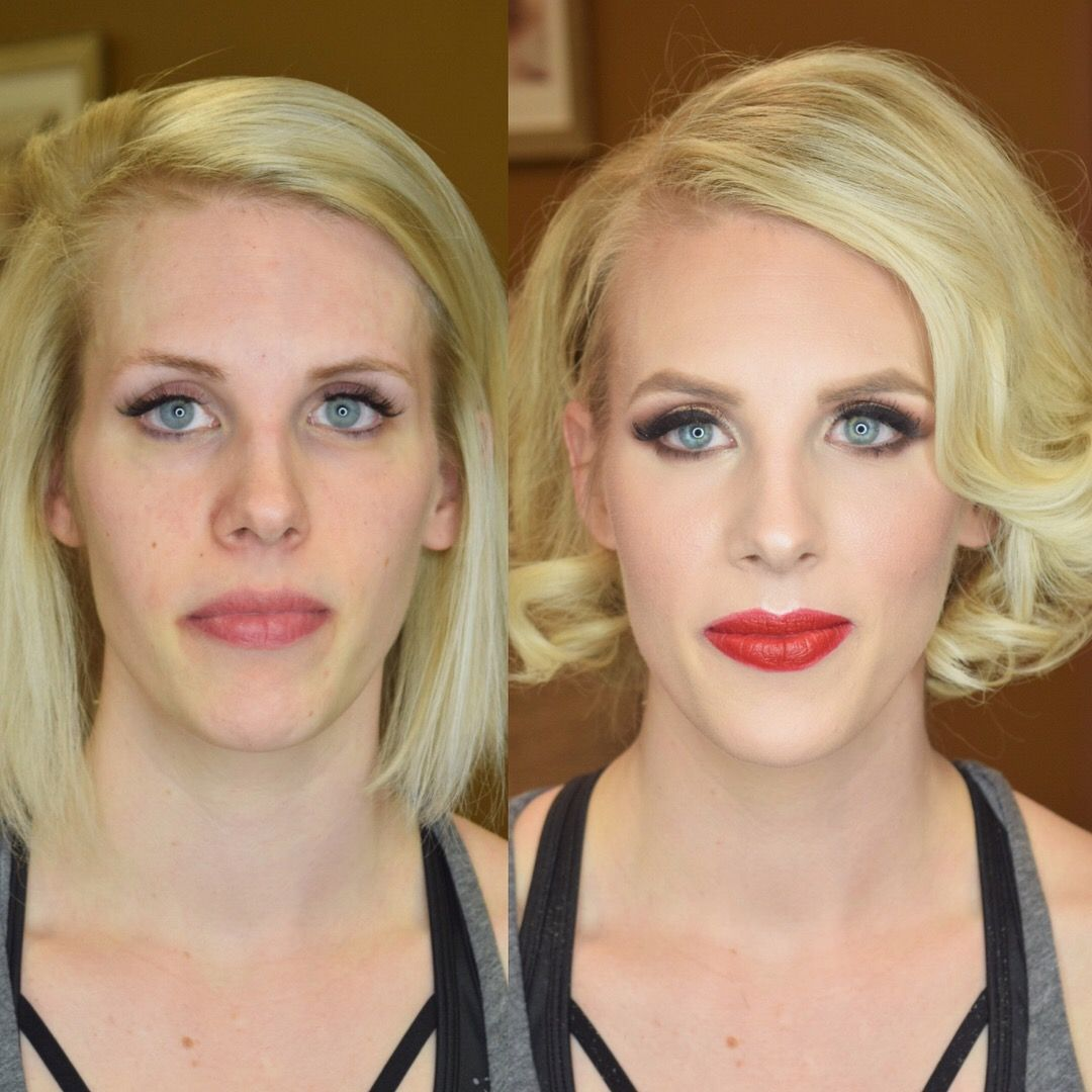 Before and After — Pittsburgh Makeup Artist and Hair