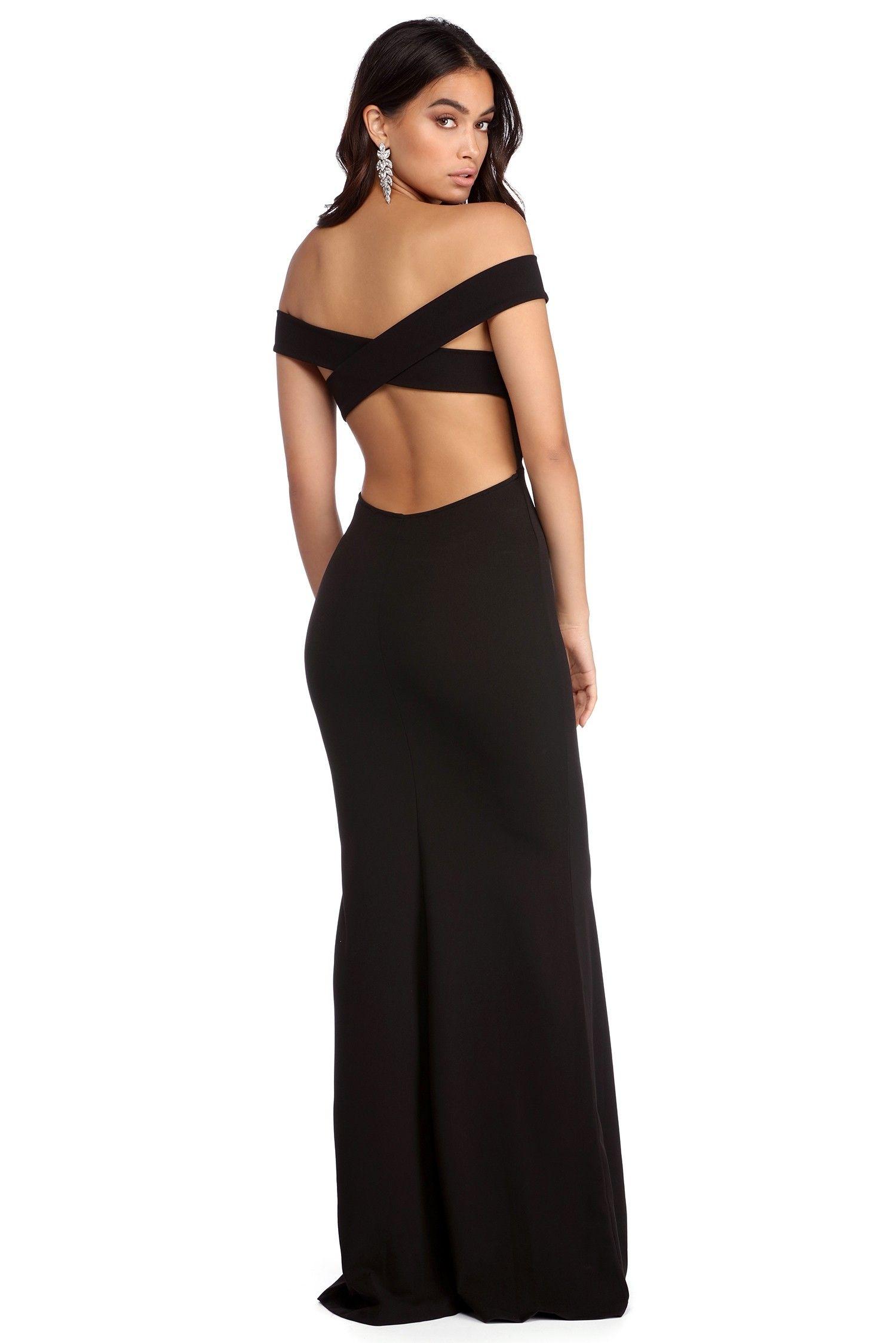 f6b4fb72722 FINAL SALE -Jocelyn Off The Shoulder Dress in 2019