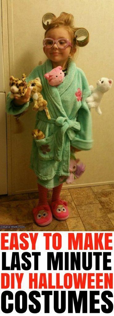 19 Last Minute Super DIY Halloween-Kostüme, die Sie schnell machen können #funnyhalloweencostumes
