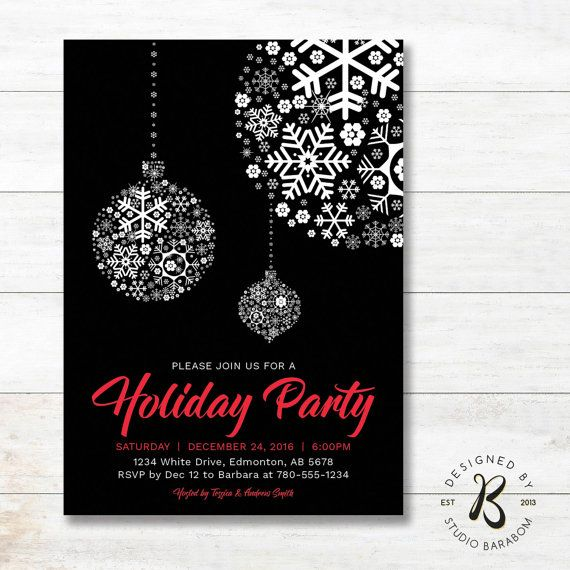 Holiday Invitations Christmas Party Invitation Christmas Christmas Party Invitation Template Holiday Party Invitations Christmas Party Invitations Printable