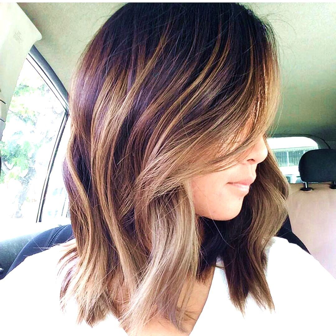 Prev Next Spring Hair Color Trends For Brunettes Brunette