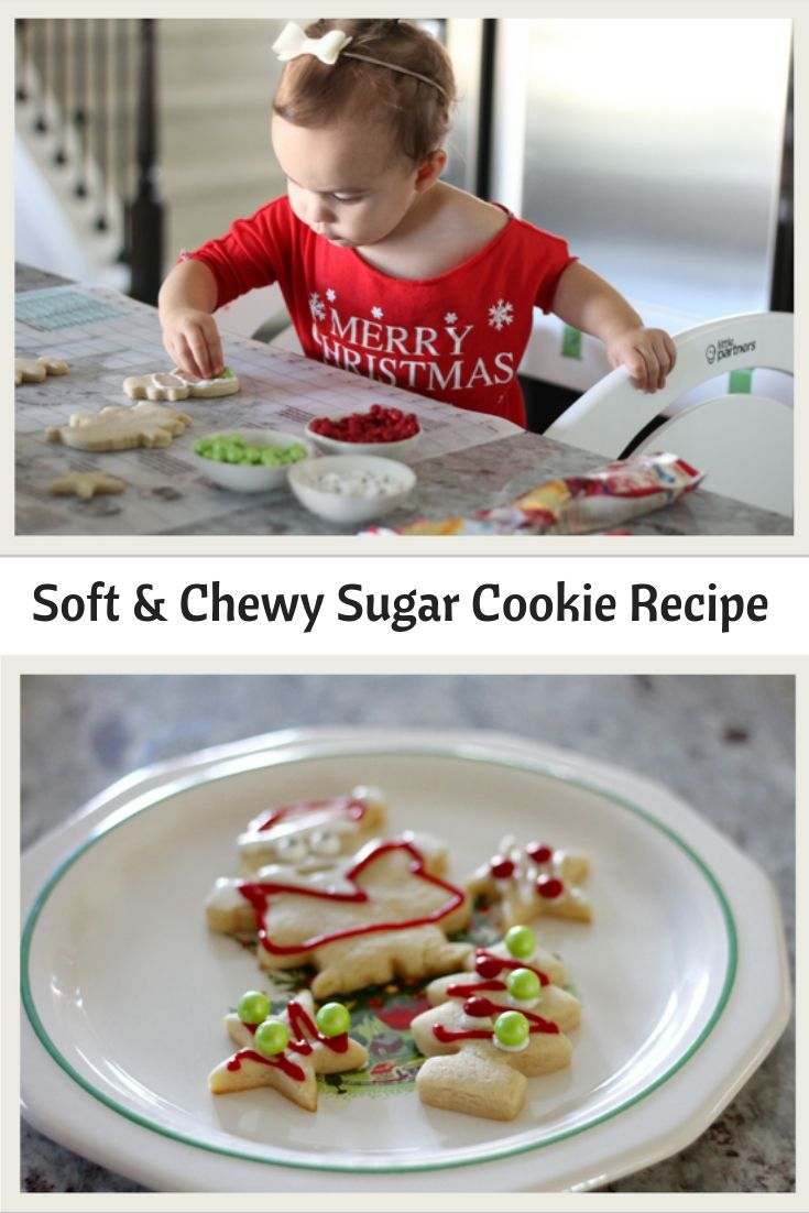 Chewy Sugar Cookie Recipe Kids cooking recipes, Chewy