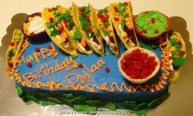 Taco Birthday Cake GU 109